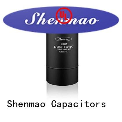 Shenmao screw terminal electrolytic capacitor oem service for coupling
