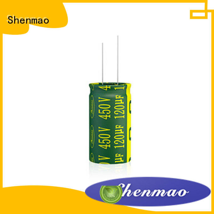 Shenmao radial type capacitor bulk production for coupling