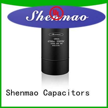 Shenmao stable screw terminal capacitors oem service for tuning