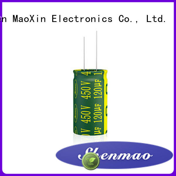 Shenmao radial electrolytic capacitor owner for filter
