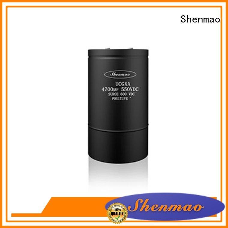 Shenmao 600v electrolytic capacitors owner for energy storage