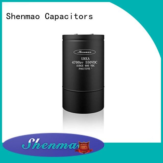 Shenmao screw terminal capacitors oem service for tuning