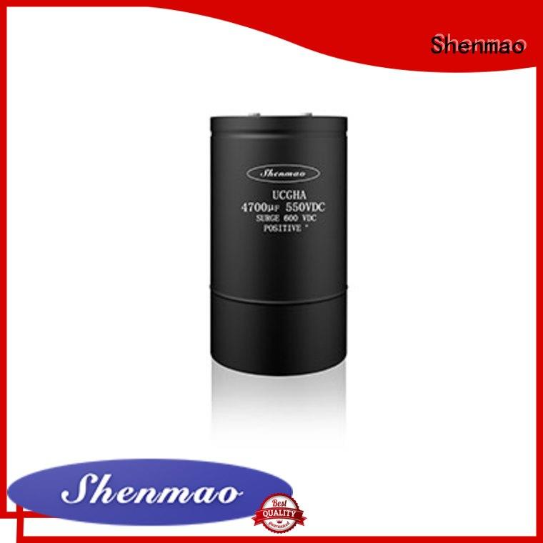 Shenmao professional polymer electrolytic capacitor vendor for tuning