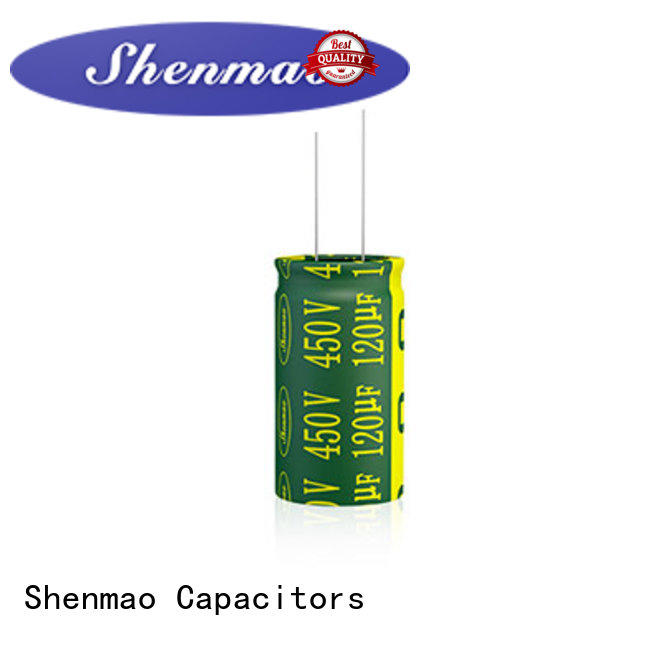 Shenmao price-favorable radial capacitor bulk production for DC blocking
