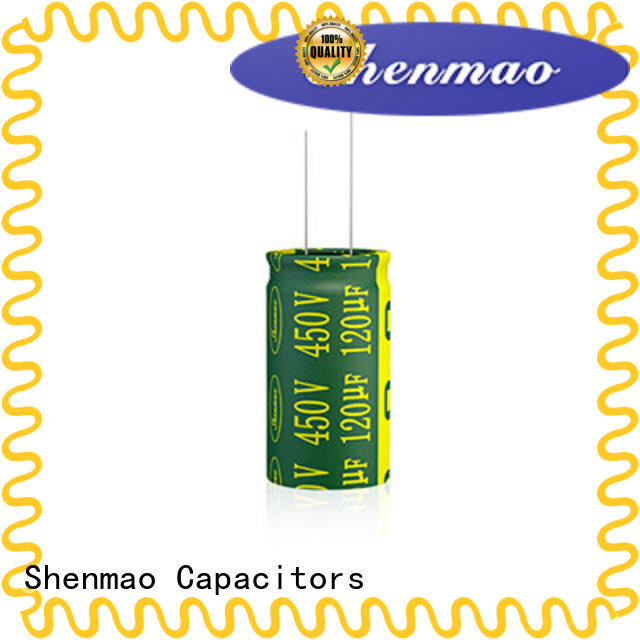 Shenmao durable radial aluminum electrolytic capacitors supplier for timing