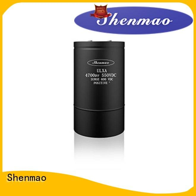 Shenmao 600v electrolytic capacitors supplier for temperature compensation