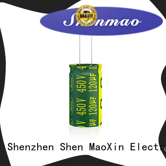 Shenmao high quality best electrolytic capacitor manufacturers supplier for DC blocking