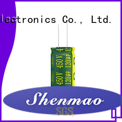 Shenmao radial capacitor overseas market for coupling