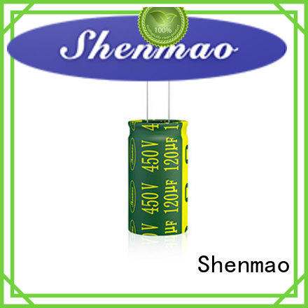 Shenmao radial electrolytic capacitor marketing for timing