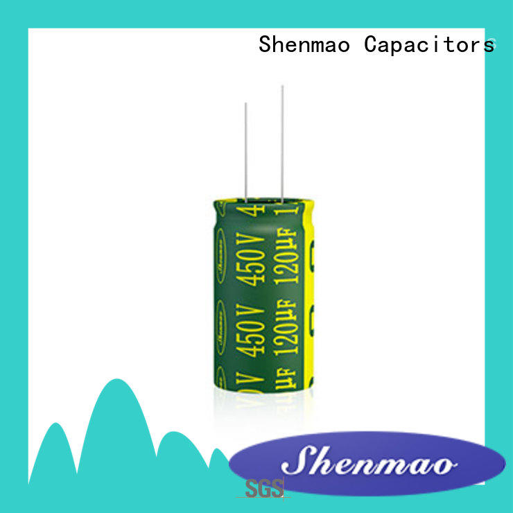 price-favorable 10uf 450v radial electrolytic capacitor bulk production for rectification