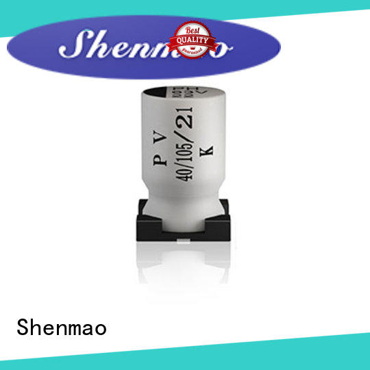 Shenmao smd electrolytic capacitor oem service for tuning