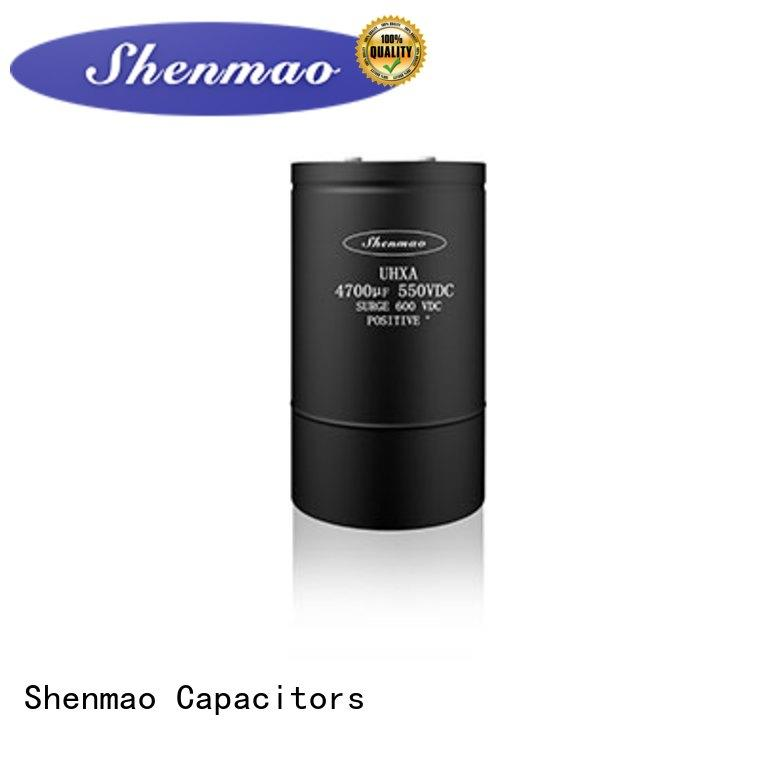 Shenmao competitive price Screw Terminal Aluminum Electrolytic Capacitor oem service for energy storage