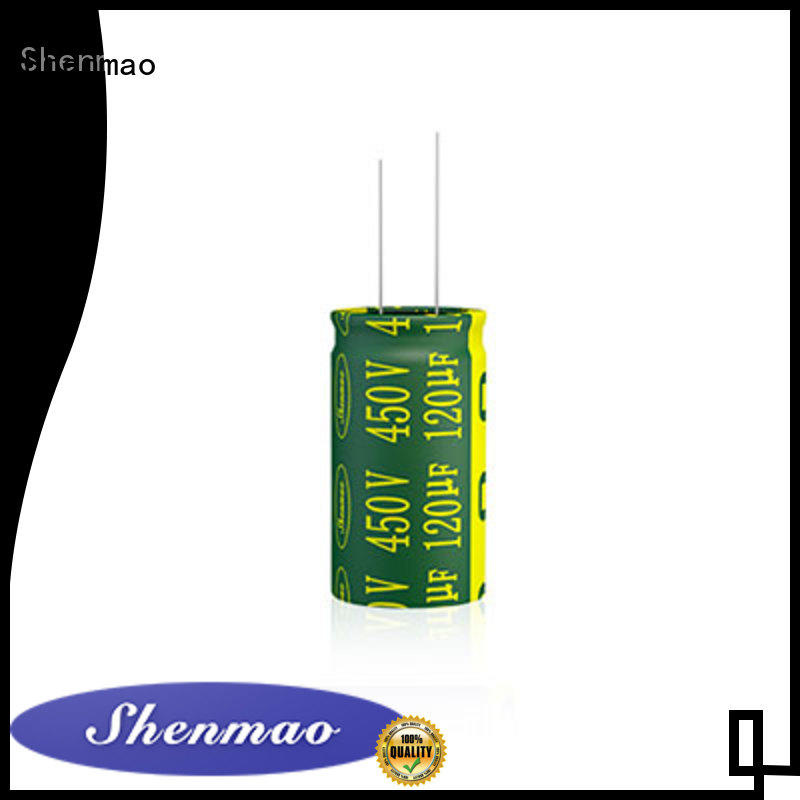 Shenmao stable radial capacitors owner for energy storage