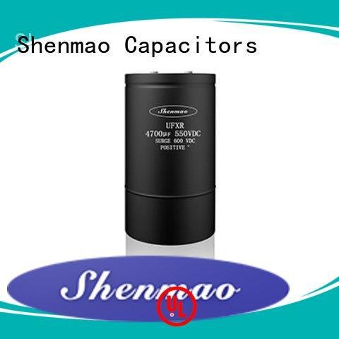 competitive price screw terminal capacitors bulk production for DC blocking