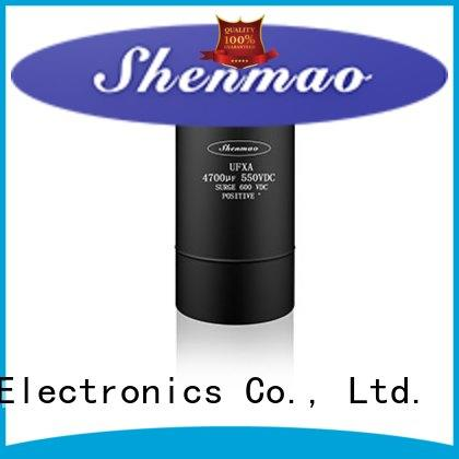 Shenmao good to use 600v electrolytic capacitors vendor for temperature compensation