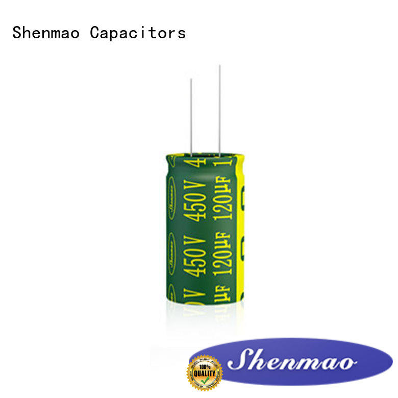 Shenmao price-favorable radial type capacitor marketing for tuning
