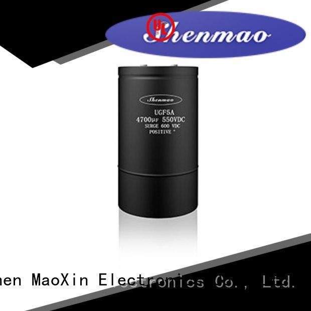 Shenmao 600v electrolytic capacitors vendor for energy storage