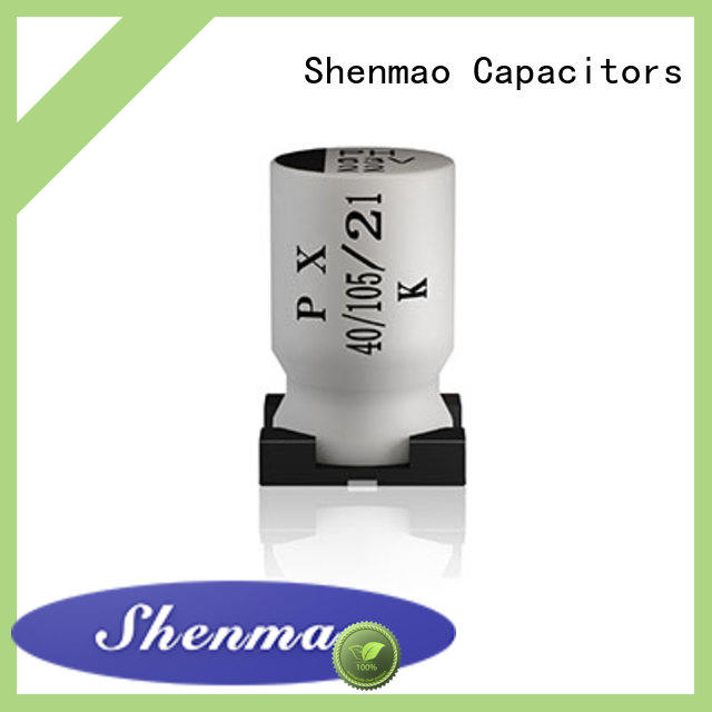 Shenmao competitive price capacitor electrolytic smd for coupling