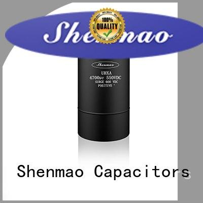 Shenmao professional large electrolytic capacitor vendor for filter