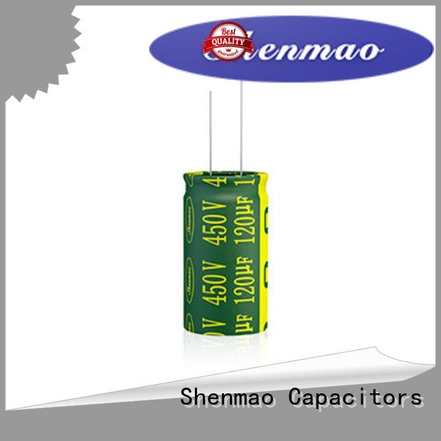 Shenmao radial capacitors bulk production for energy storage