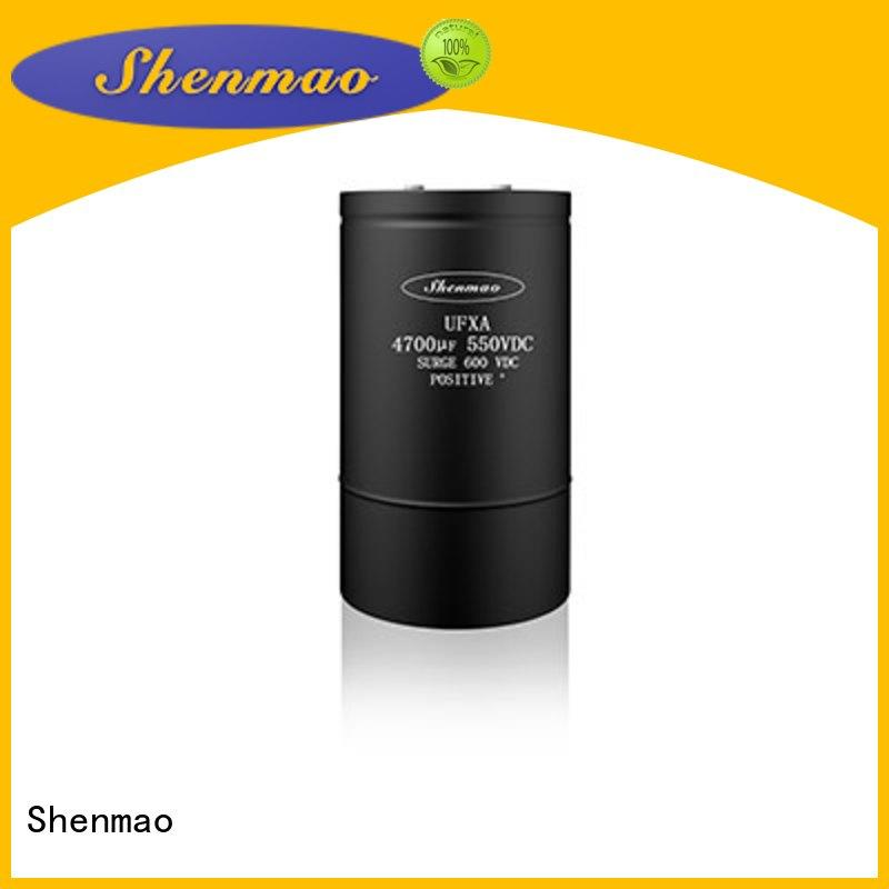 Shenmao energy-saving high voltage electrolytic capacitors for sale for rectification