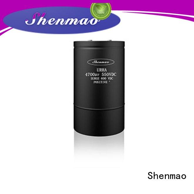 Shenmao screw type capacitor bulk production for tuning