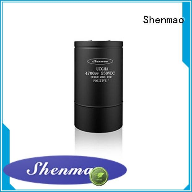 Shenmao energy-saving polymer aluminum electrolytic capacitors for rectification