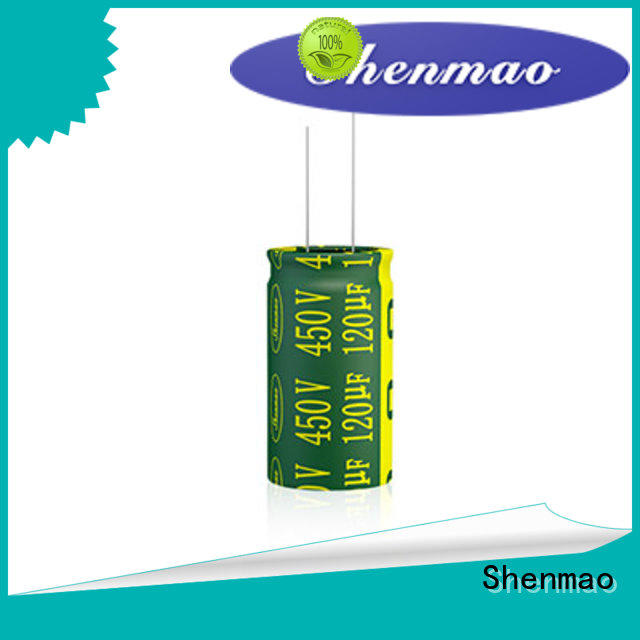 Shenmao price-favorable 47uf electrolytic capacitor for rectification