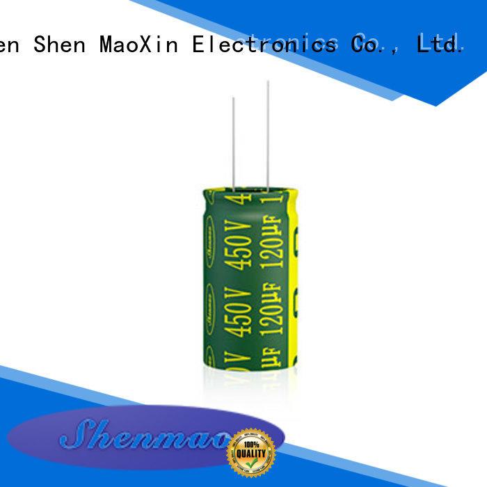 Shenmao 1000uf 25v radial electrolytic capacitor bulk production for tuning