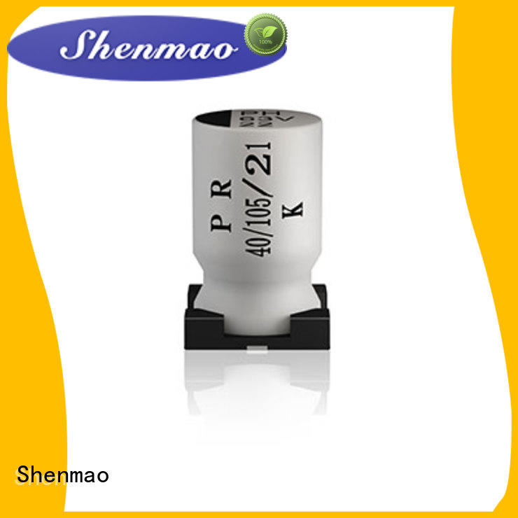 advanced technology smd aluminum electrolytic capacitor vendor for filter