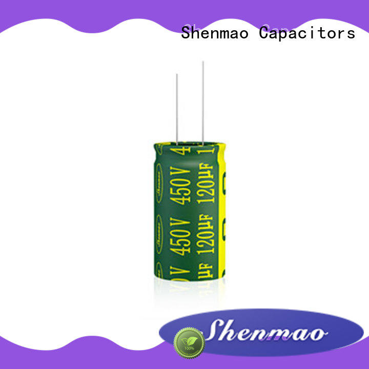 Shenmao radial can capacitor overseas market for energy storage