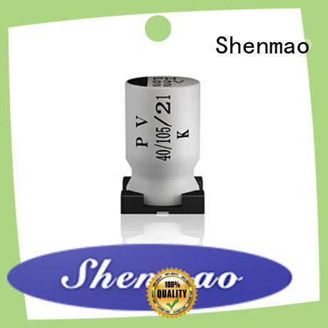 Shenmao high quality smd aluminium capacitor vendor for energy storage