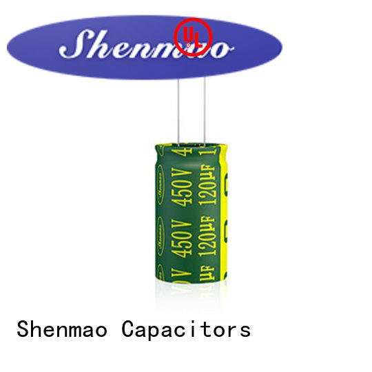 Shenmao quality-reliable 1000uf 450v radial electrolytic capacitors supplier for temperature compensation