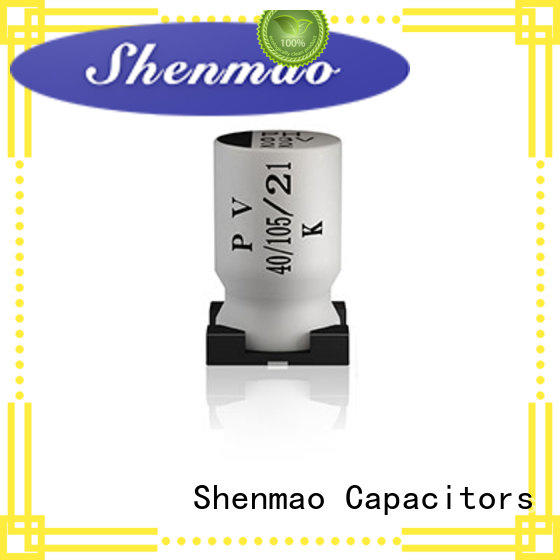 Shenmao 220uf smd capacitor bulk production for energy storage