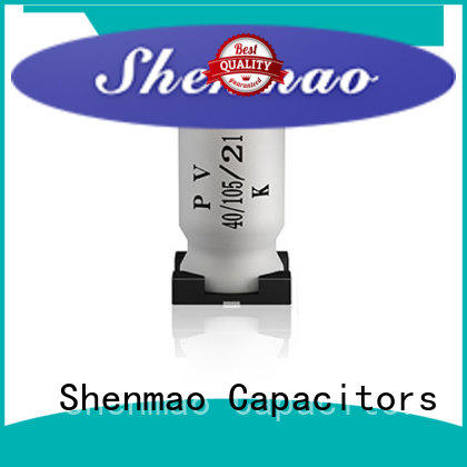 Shenmao smd capacitor manufacturers bulk production for rectification