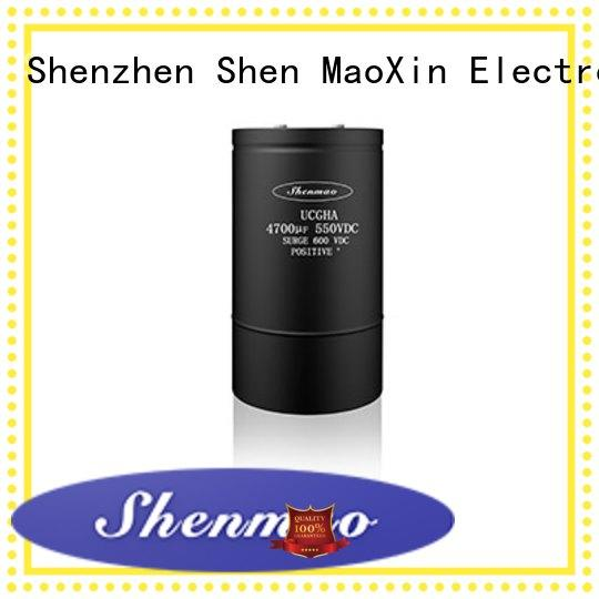 Shenmao low esr aluminum electrolytic capacitors supplier for temperature compensation