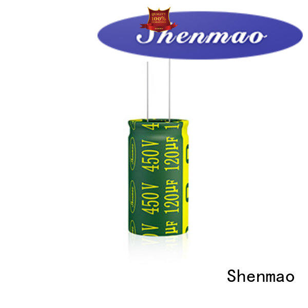 Shenmao radial capacitors overseas market for rectification