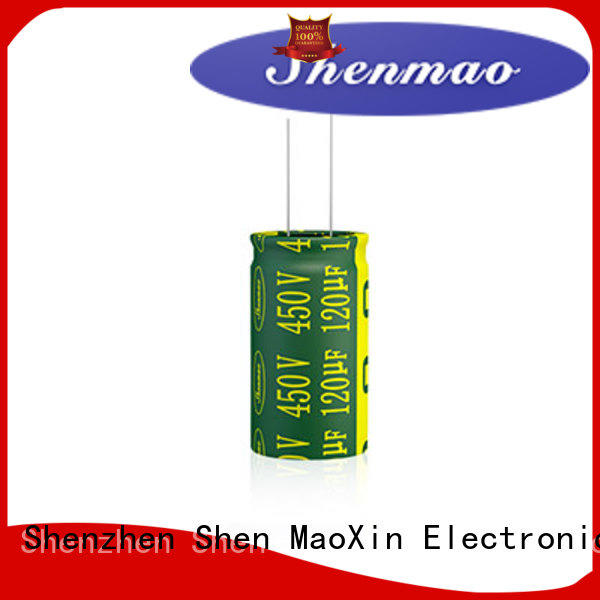 Shenmao 470uf 250v radial electrolytic capacitor bulk production for rectification