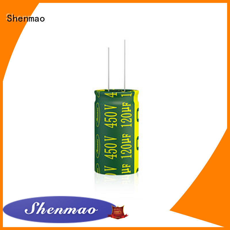 Shenmao 1000uf 450v radial electrolytic capacitors supplier for temperature compensation