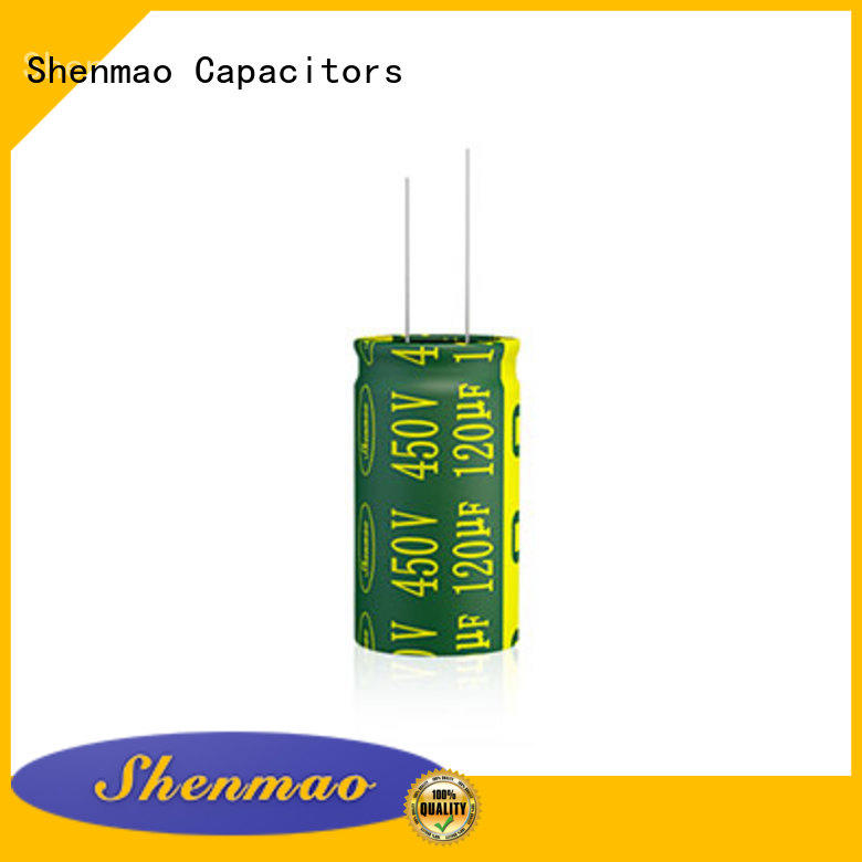 Shenmao high quality radial aluminum electrolytic capacitors marketing for filter