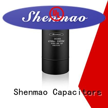 Shenmao screw terminal capacitors oem service for coupling
