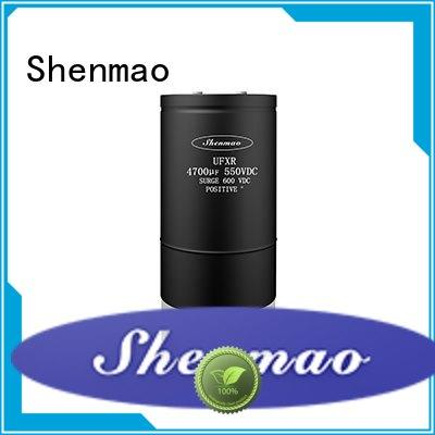 Shenmao screw terminal capacitor oem service for rectification