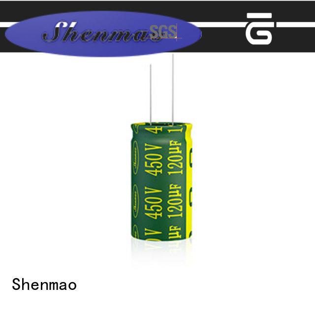 Shenmao Radial Aluminum Electrolytic Capacitor vendor for temperature compensation