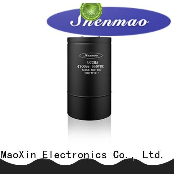 Shenmao 600v electrolytic capacitors vendor for timing