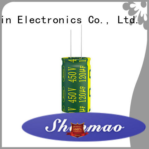 Shenmao radial lead capacitor overseas market for filter