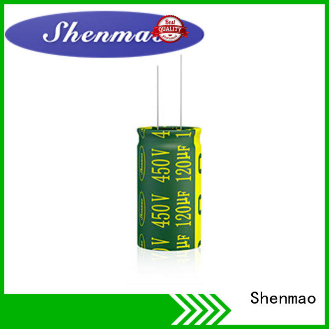 Shenmao radial aluminum electrolytic capacitors vendor for temperature compensation