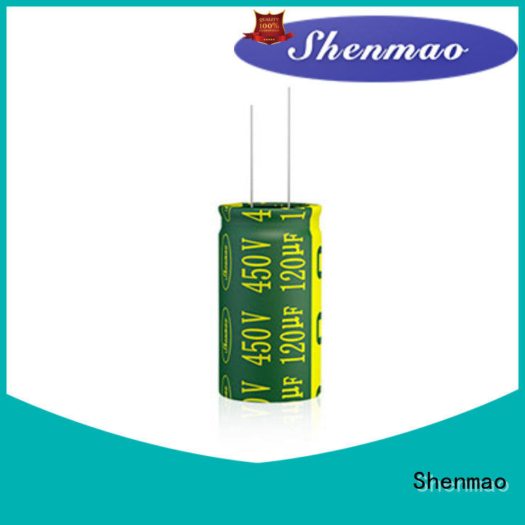 Shenmao easy to use 1000uf 450v radial electrolytic capacitors marketing for coupling