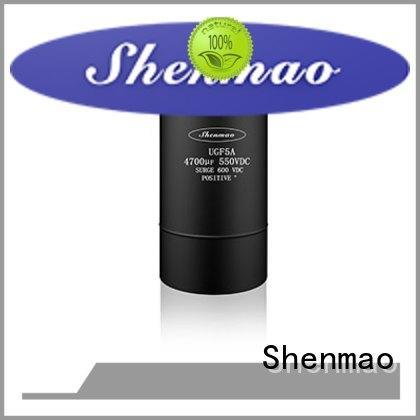 Shenmao screw terminal capacitors marketing for temperature compensation