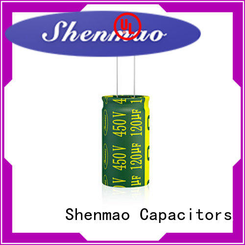 Shenmao best electrolytic capacitor manufacturers overseas market for energy storage