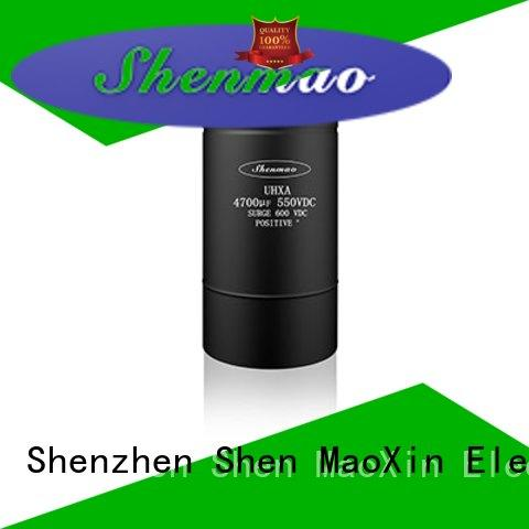 Shenmao low esr aluminum electrolytic capacitors owner for filter